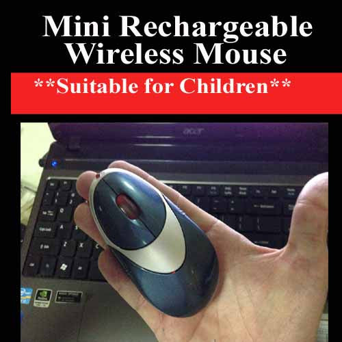 USB Wireless Rechargable Wireless Mouse