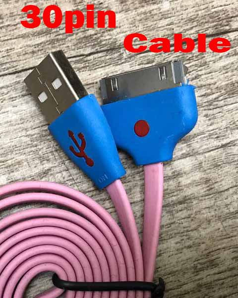 USB TO 30 PIN DATA SYNC CHARGER CABLE FOR iPhone 4 4S iPad iPod 2/3/4