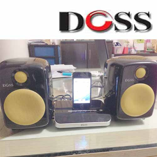 DOSS 2.1 Speaker support SD memory and USB Thumbdrive