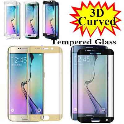 S6 Edge,S6 Plus,S7,S7 Edge, 3d Curved Tempered Glass