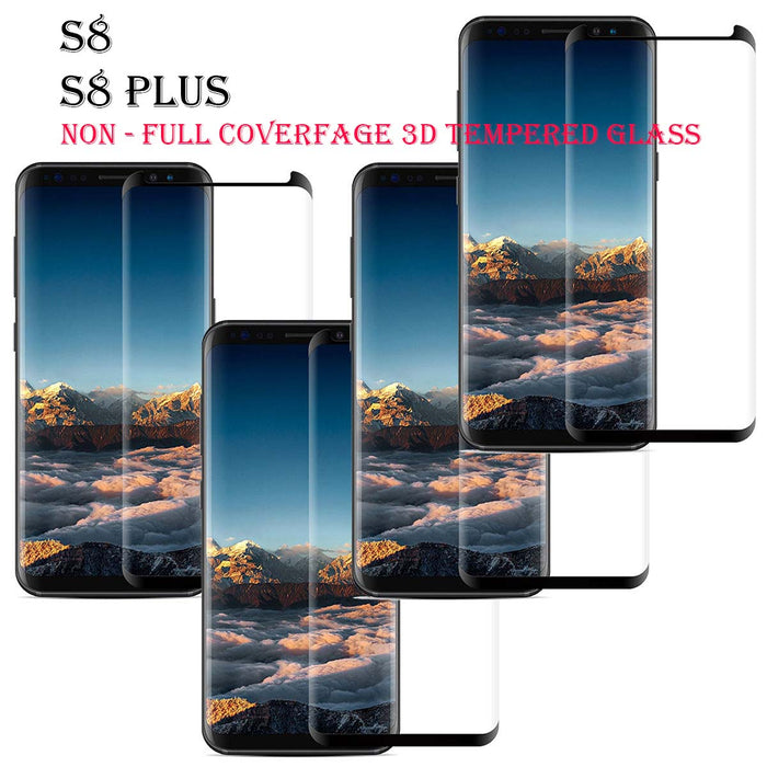 S8,S8 Plus Non Full Coverage 3D Tempered Glass
