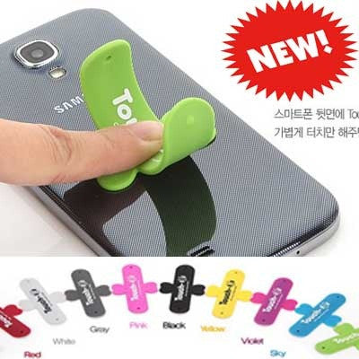 5pcs in One pack Touch U Silicon Stand
