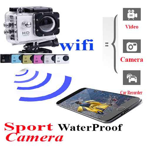 1080P WIFI Same as Gopro SJCam SJ4000 Waterproof Sport DV Camera★HD Cam action Recorder Bike Helmet Sports Car DVR★ Waterproof Outdoor★HD Underwater Go P