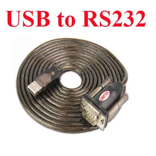 USB 2.0 to RS 232 Cable