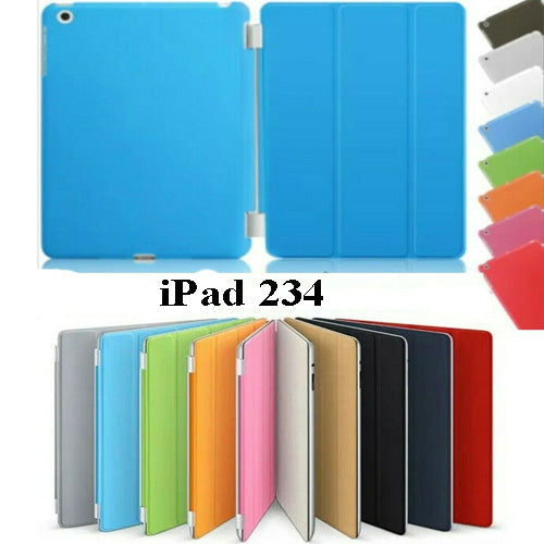 Slim Smart Case  Leather Stand Magnetic Cover for iPad 234