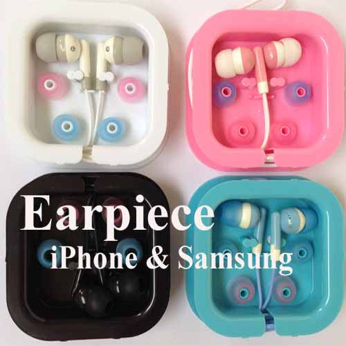 2 pcs Color Earpiece - can use on iPhone ,iPad ,Samsung Galaxy