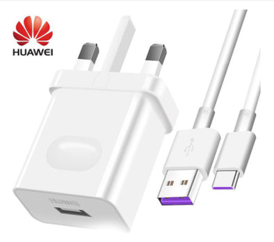 Original Huawei Wall Super Charger 5A include Type-C