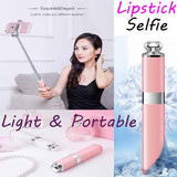 #Fashion Lipstick Nude Design Bluetooth Wireless Selfie Stick for iPhone 7/7 plus iPhone 6 6s iOS for Samsung Android Smartphone