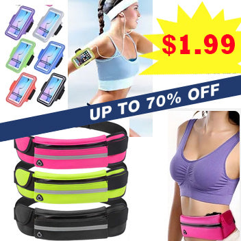 Sports Armband/ Arm band Jogging Pouch/ Bag/ for iPhone Android