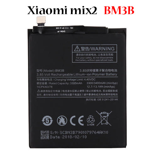 Battery for Xiaomi mix2 BM3B