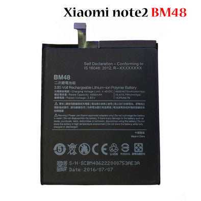 Battery for Xiaomi note2 BM48