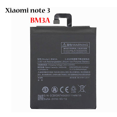 Battery for Xiaomi note3 BM3A