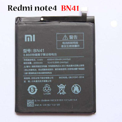 Battery for Xiaomi note4 BN41