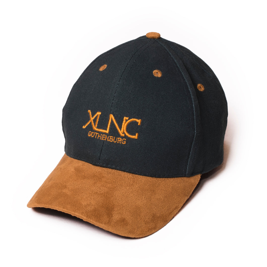 """Fine Suede"" cap - Bottle green"