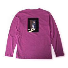 "Load image into Gallery viewer, ""Go Boldly"" long sleeve t-shirt"