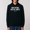 Hoodie homme Runaway Adventure Has No Limits Noir