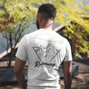 T-shirt Homme Runaway Adventure Has No Limits Blanc