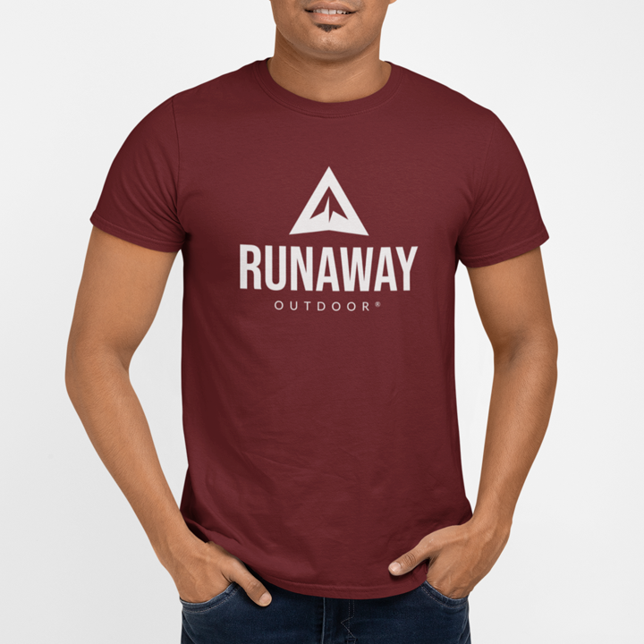 T-shirt homme Runaway Original - Bordeaux