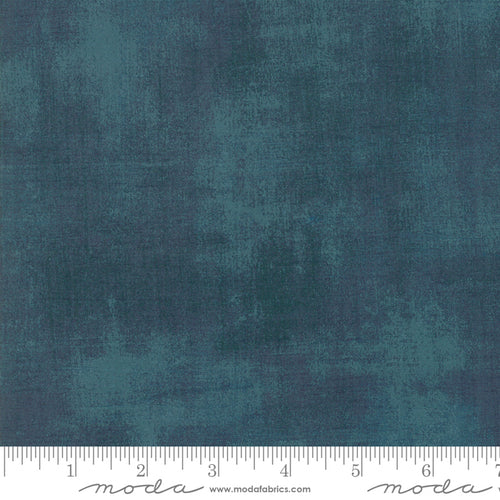 Grunge deep teal with grey by moda