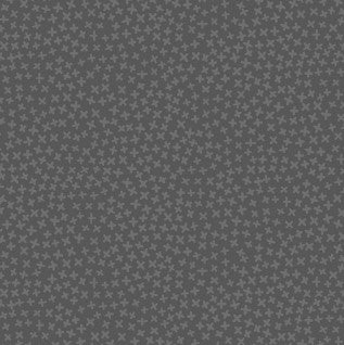 Peat colour - dark charcoal with stars dear stella fabric