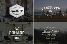 Load image into Gallery viewer, Vintage Hand Drawn Style Logos