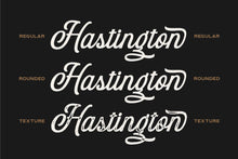 Load image into Gallery viewer, Hastington Script