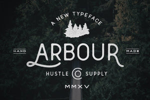 Arbour - Hand Drawn Font