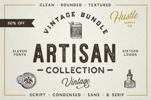 Load image into Gallery viewer, The Artisan Collection (Font Bundle)