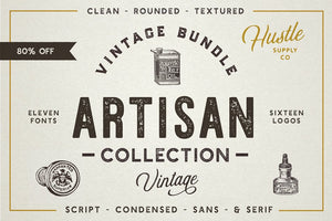The Artisan Collection (Font Bundle)