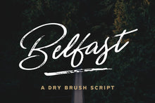 Load image into Gallery viewer, Belfast - A Dry Brush Script
