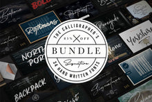 Load image into Gallery viewer, The Calligrapher's Font Bundle
