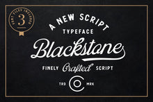 Load image into Gallery viewer, Blackstone Script