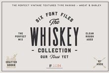 Load image into Gallery viewer, Whiskey Font Collection