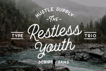 Load image into Gallery viewer, The Restless Youth - Font Bundle