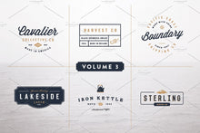 Load image into Gallery viewer, Vintage Logo Kit: Volume Three