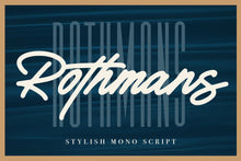 Load image into Gallery viewer, Rothmans - Font Duo