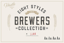 Load image into Gallery viewer, The Brewers Font Collection: 8 Fonts