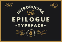 Load image into Gallery viewer, Epilogue - A Vintage Typeface