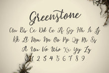 Load image into Gallery viewer, Greenstone Script