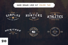 Load image into Gallery viewer, Vintage Hand Drawn Logos: Volume Two