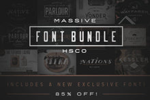 Load image into Gallery viewer, Massive Font Bundle