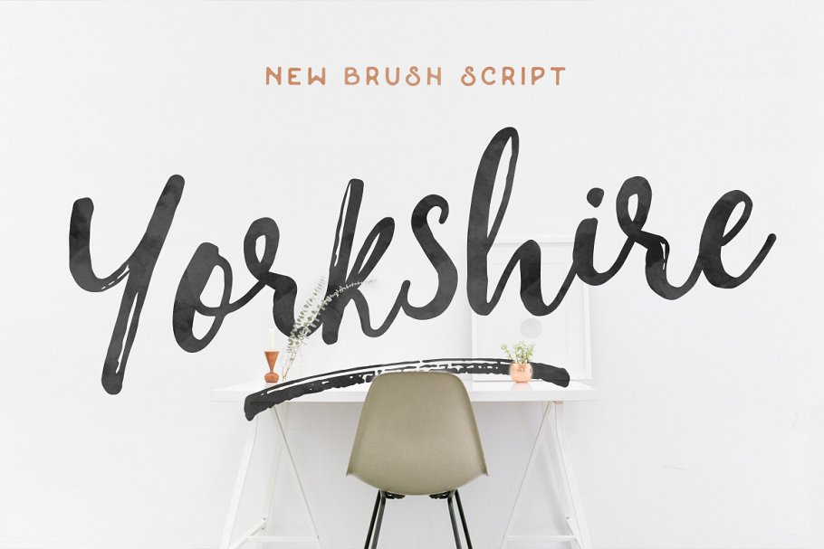 Yorkshire - Brush Script