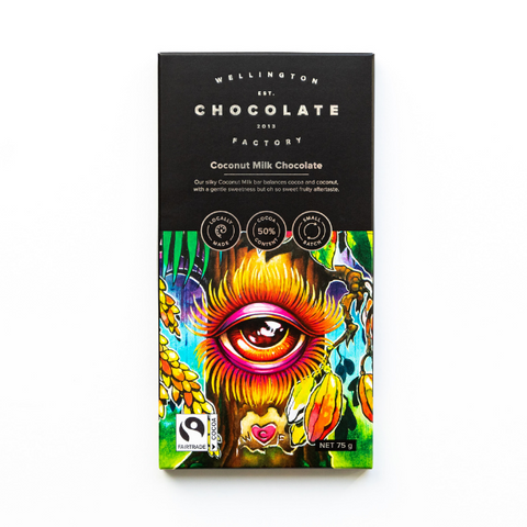 Coconut Milk Chocolate Bar [75g]