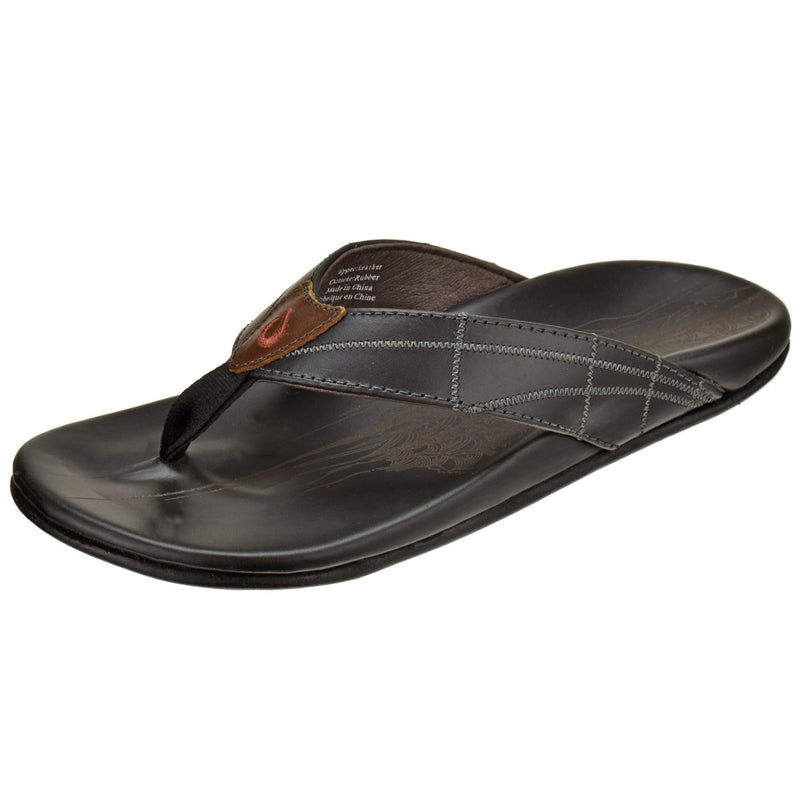 Men's Hokulea Kia Leather Sandal - Oak Hall