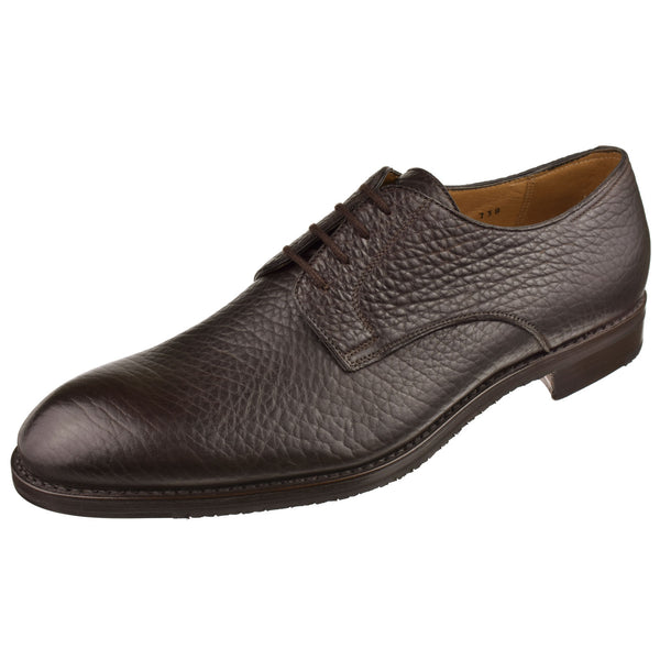 Plain Toe Bison Oxford - Oak Hall