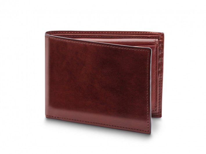 Bifold Wallet With I.D. Passcase Old Leather - Oak Hall