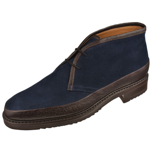 Men's Suede and Bison Chukka Boot - Oak Hall