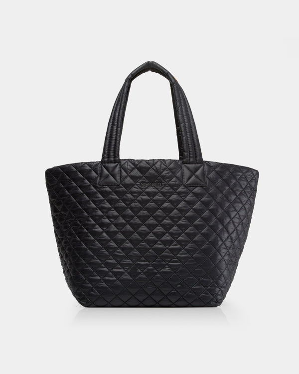 Medium Metro Tote in Black - Oak Hall, Inc.