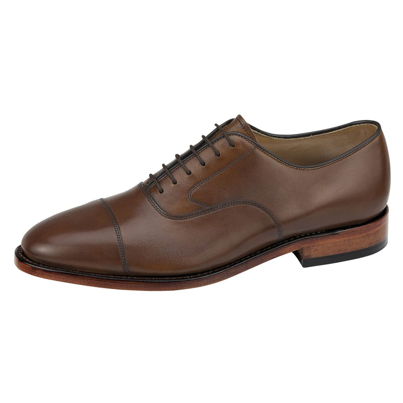 Men's Melton Cap Toe Oxford - Oak Hall, Inc.