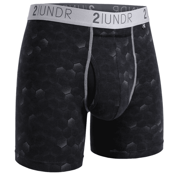 "Swing Shift - 6"" Boxer Brief - Print - Oak Hall"